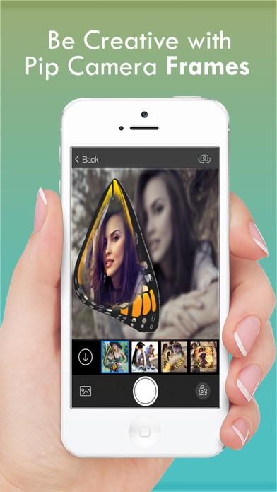 蠻力相機之美 - 免費照片拼貼製作隨著特產畫框為Instagram的屏幕截圖3