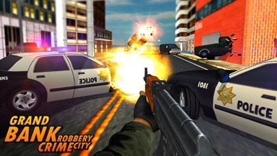 Bank Robbery - crime city police shooting 3D free-4