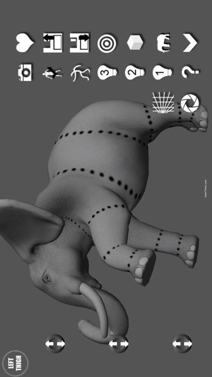 Elephant Pose Tool 3D