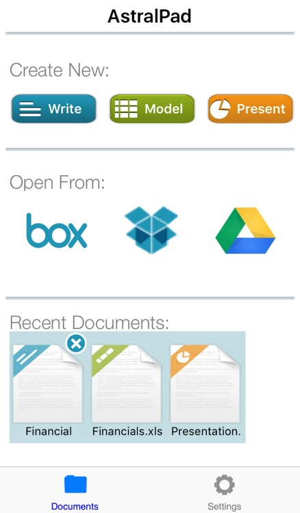AstralPad Office Collaboration – Documents, spreadsheet, presentation creation, editing and sharing