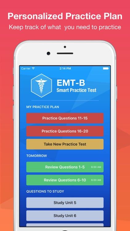 NREMT EMT-B Smart Test Prep 2016 Premium Edition screenshot-3