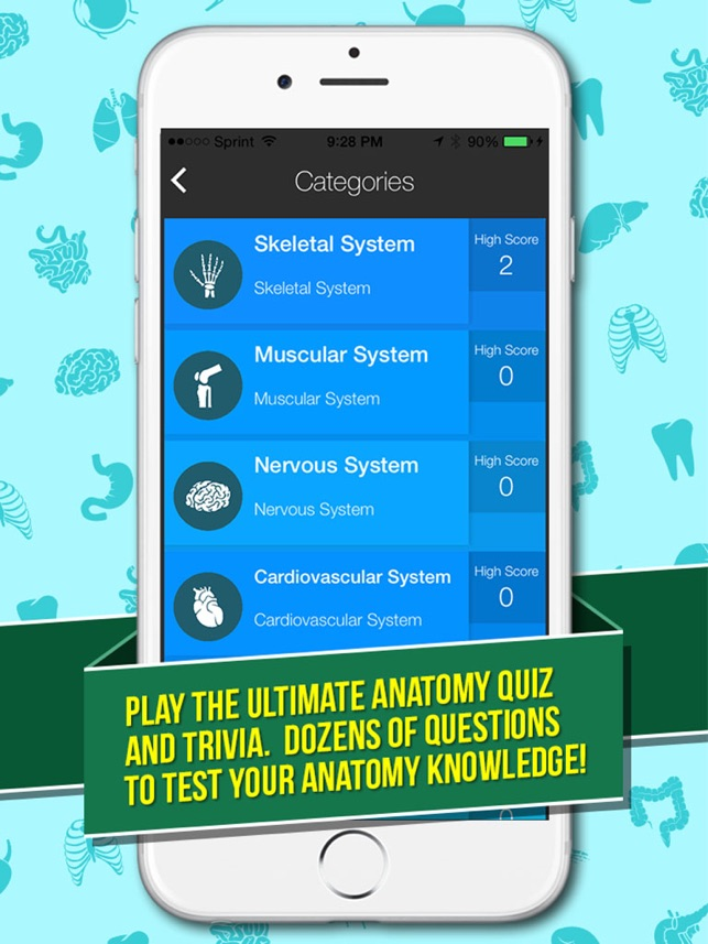 Ultimate Anatomy Quiz Trivia Anatomy Word Search Pro On The App