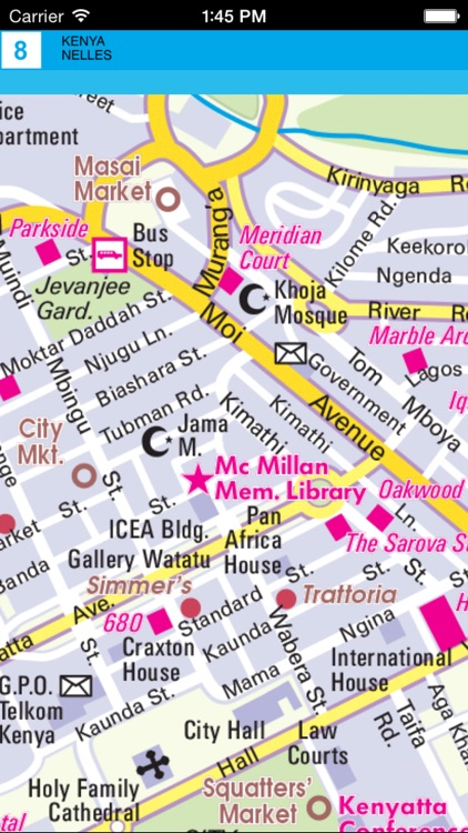 Kenya. Tourist map screenshot-4