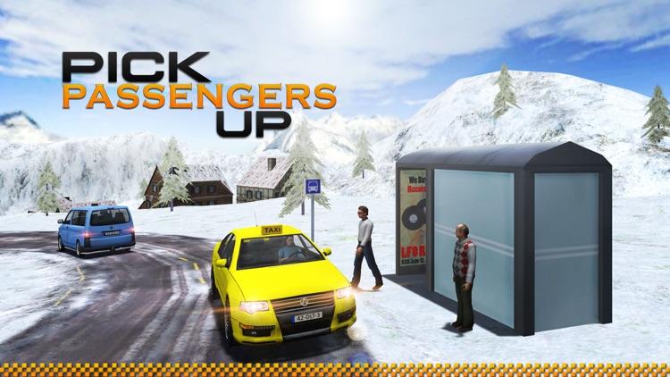 Hill Station Taxi Driver Simulator 3D screenshot-3