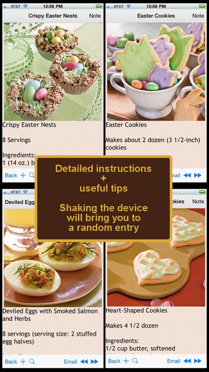 Easter Recipes Plus+