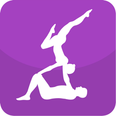 Acroyoga Guide - A visual guide with videos for acroyoga and yoga lovers.