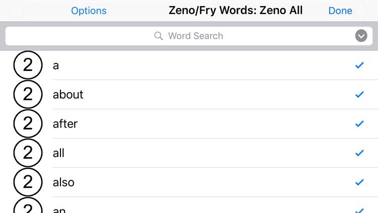 Sight Word Mastery: Zeno Words screenshot-4