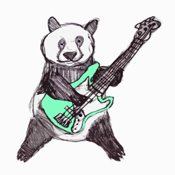 Bass Panda : Notes Quiz, Fretboard Workout and Scale Coach with Tuner for Electric Bass Guitar