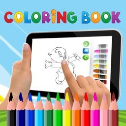 PAINT COLORING BOOK FOR KIDS PORKY PIG CARTOON VERSION