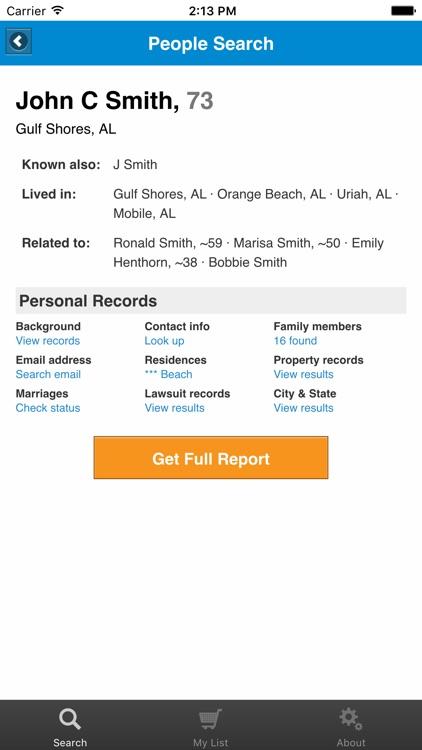 People Search - Radaris app image