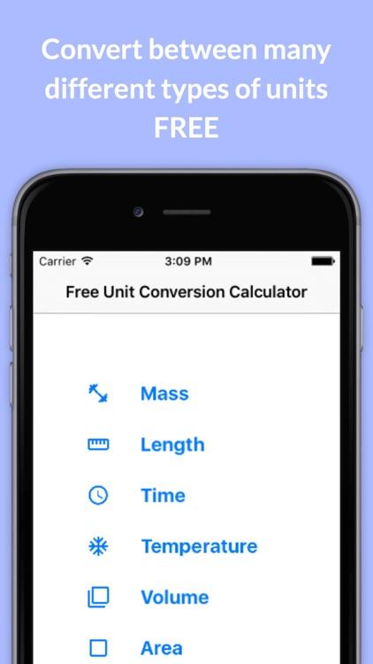 Free Unit Conversion Calculator