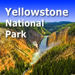 Yellowstone Park Trail and Road Map