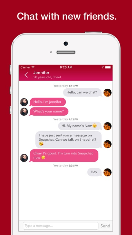 Frenlizt+ - Chat and Meet Friends on Snapchat, Kik, Instagram, Skype, Facebook or Twitter