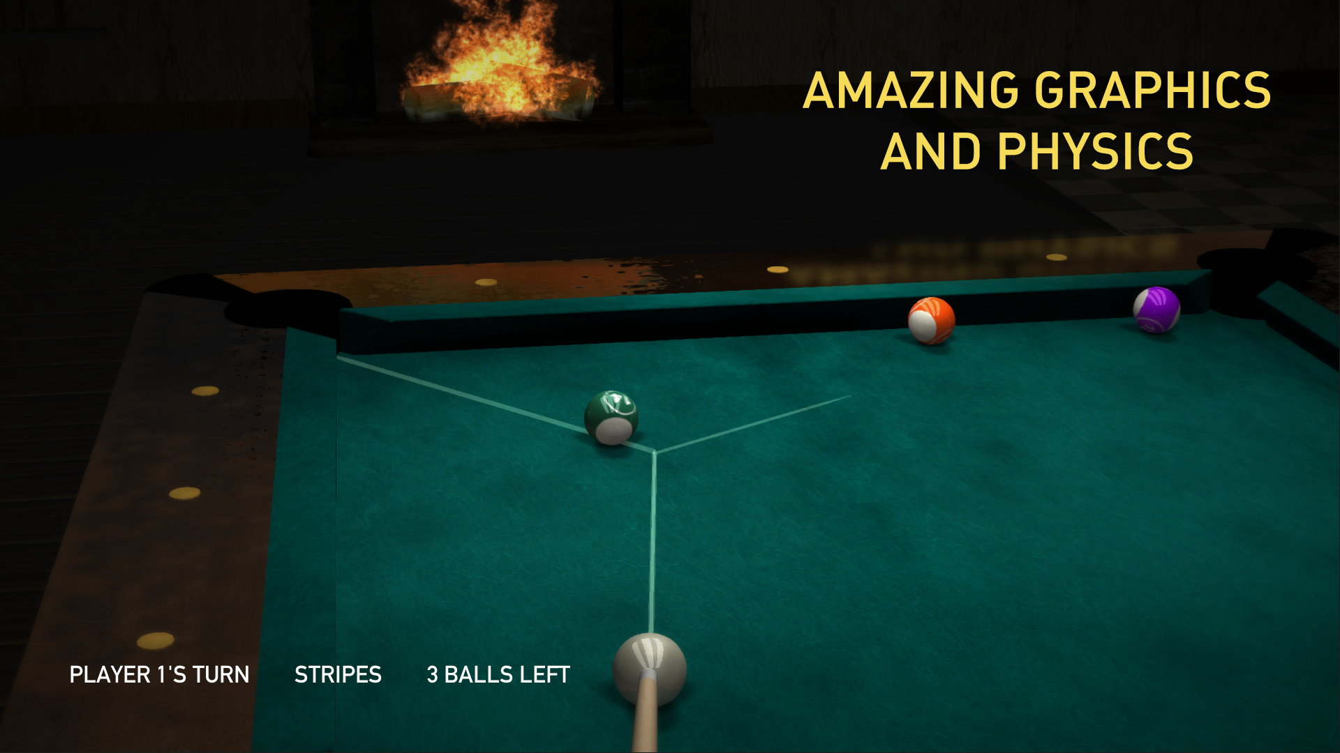 Pool HD —Eight Ball Multiplayer Billiards Game screenshot 2