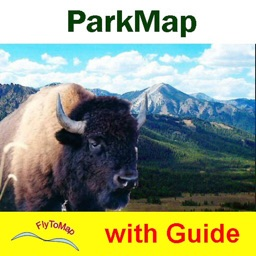 Sequoia - Kings National Park gps and outdoor map with Guide