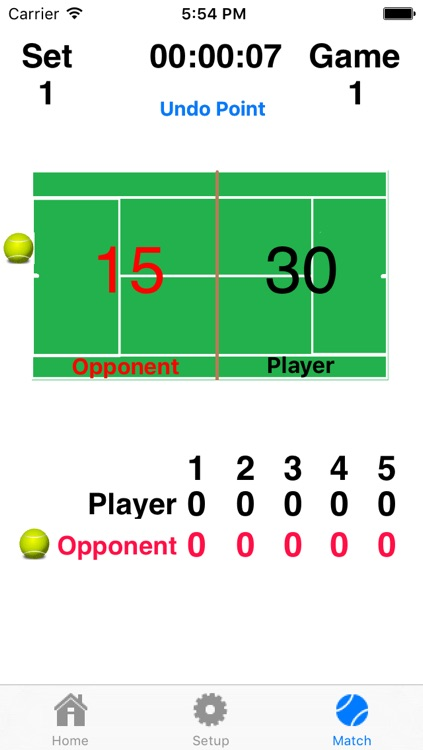 Tennis Score Addict - Keep Score And Hear The Score Without Picking Up Your Device!