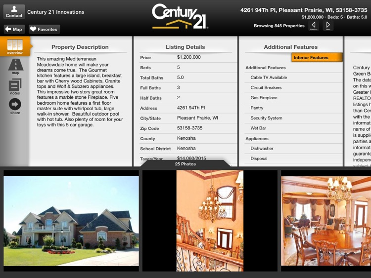 CENTURY 21 Innovations for iPad screenshot-3