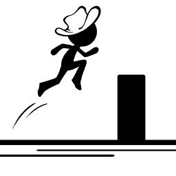 Stickman Parkour-run and jump