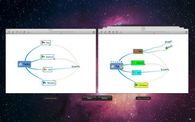 ‎QMindMap Screenshot