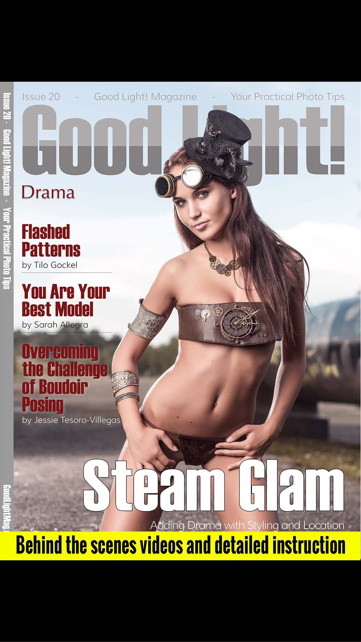 Good Light! Magazine Screenshot