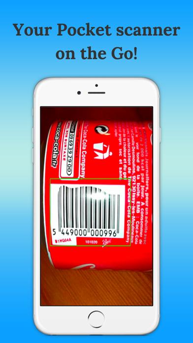 Bar-code scanner screenshot two