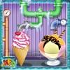 冰淇淋工厂 - 使冷冻及奶油甜点在这厨师烹饪的厨房游戏的孩子