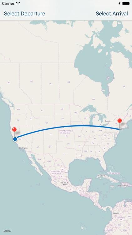 In Flight Tracker - GPS-based, offline flight tracking