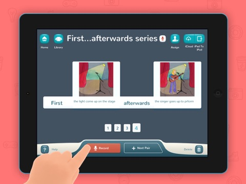 Sentence it! – Play and learn to create sentences, for kids with Autism and other Special Needs screenshot four