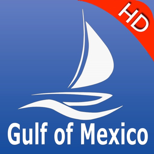 Gulf of Mexico GPS Nautical charts pro