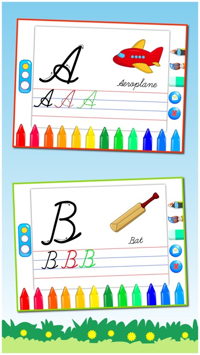 Cursive writing capital letters free kids learn to write uppercase cursive writing capital letters free kids learn to write uppercase alphabets and shapes by prachi sachdeva ios united states searchman app data expocarfo Choice Image