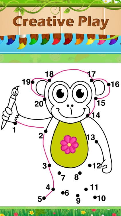 Toddlers Five Little Monkeys screenshot-4