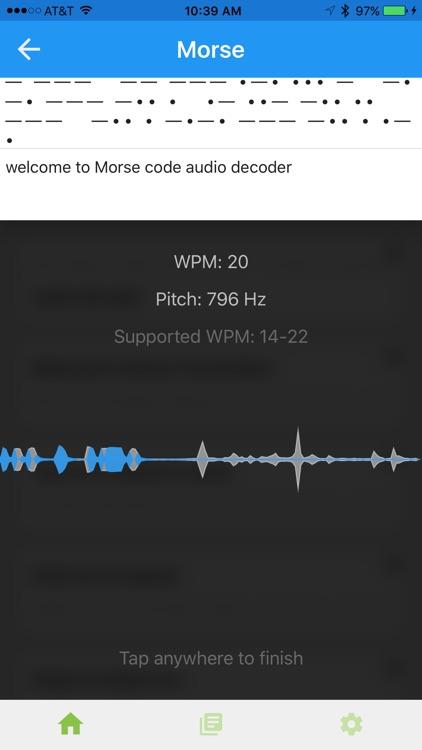 Morse Transmitter screenshot-3
