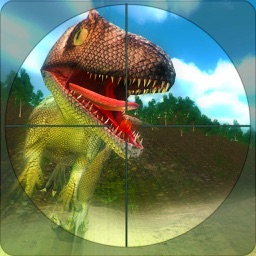Dino Hunting Survival Game 3D - Hungry Dinosaur in African Jungle