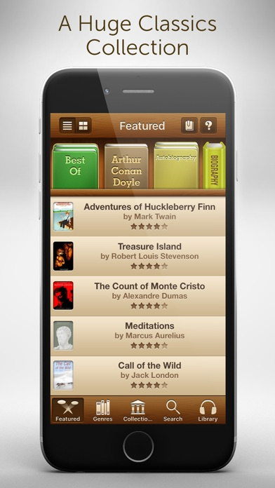 Audiobooks - 2,947 Classics For Free. The Ultimate Audiobook Library Скриншоты4