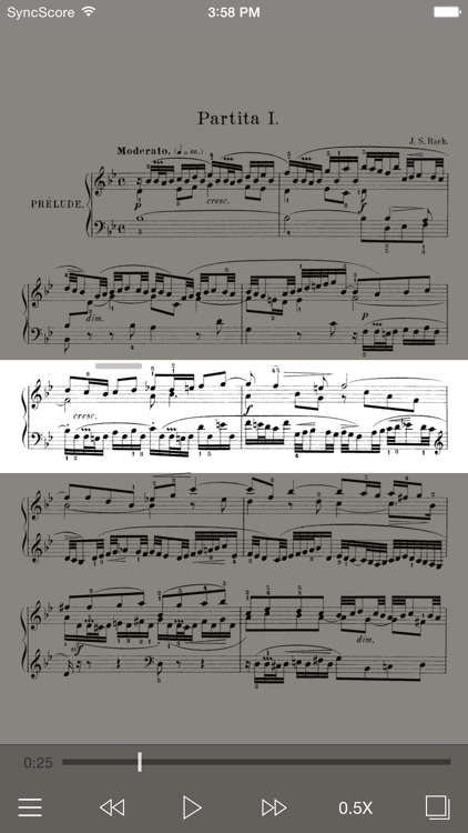 Bach Partitas - SyncScore screenshot-0