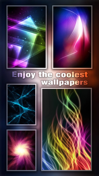 Glow Wallpapers & Themes HD - Pimp Home Screen with Radiant & Sparkle Retina Images