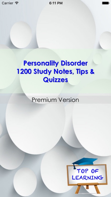 Personality Disorder: Symtomes, Causes & Therapy (1200 Tips, Notes, & Quiz) screenshot-4
