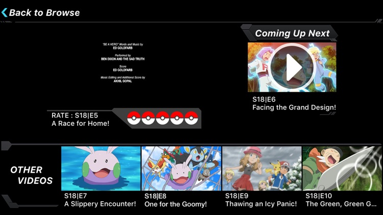 Pokémon TV screenshot-1