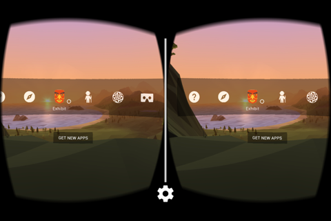 Screenshot of Google Cardboard
