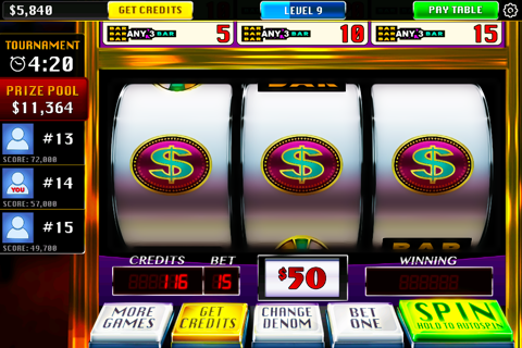 Screenshot of Real Casino Vegas Slots