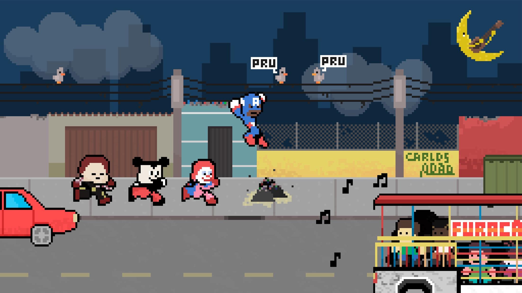 Screenshot do app Carreta Legends: Heróis do Furacão