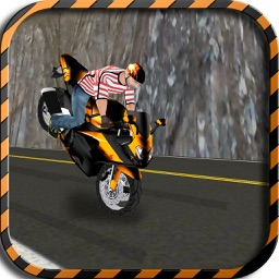 Mountain Highway Traffic Motor Bike Rider – Throttle up your freestyle moto racer to extreme
