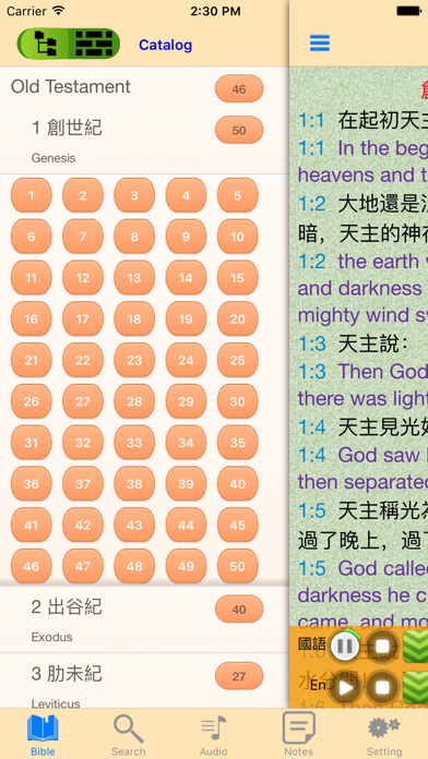 Catholic Chinese English Holy Bible Audio Book | App Price Drops
