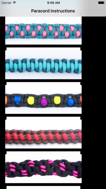 Paracord Instructions
