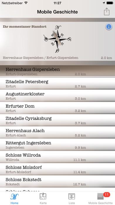 Mobile Geschichte - Burgen und SchlösserScreenshot von 1
