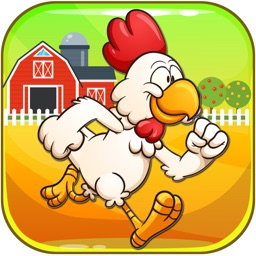 Brave Chicken Run - The Hero Runner To Grab Golds Game