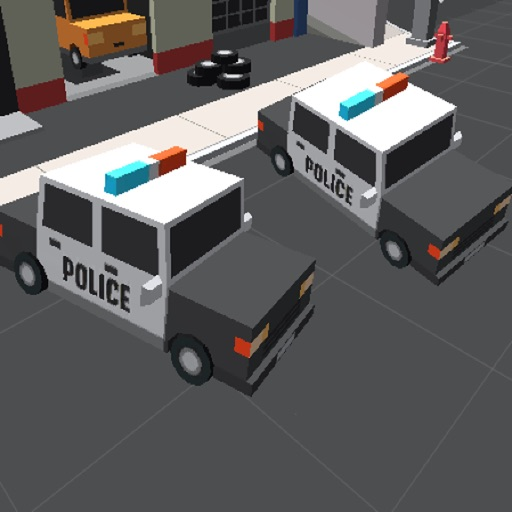 Smashy Cars Police Chase Simulator