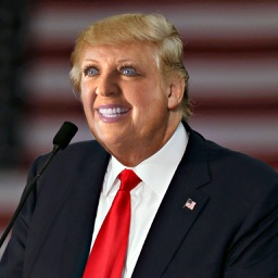 Funny Face Booth: Donald Trump Edition