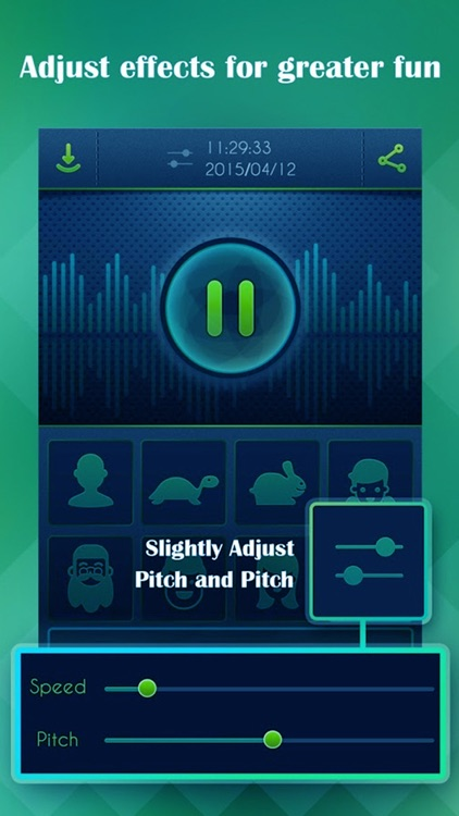 Voice Record Pro - Try the funniest way with funny effects to transform your record voice sound