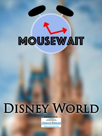 MouseWait for Disney World Social Lounge screenshot
